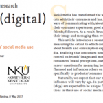 Quirk's Article: Going (digital) native - Exploring millenials