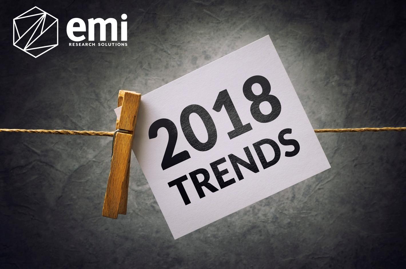 EMI 2018 Predictions
