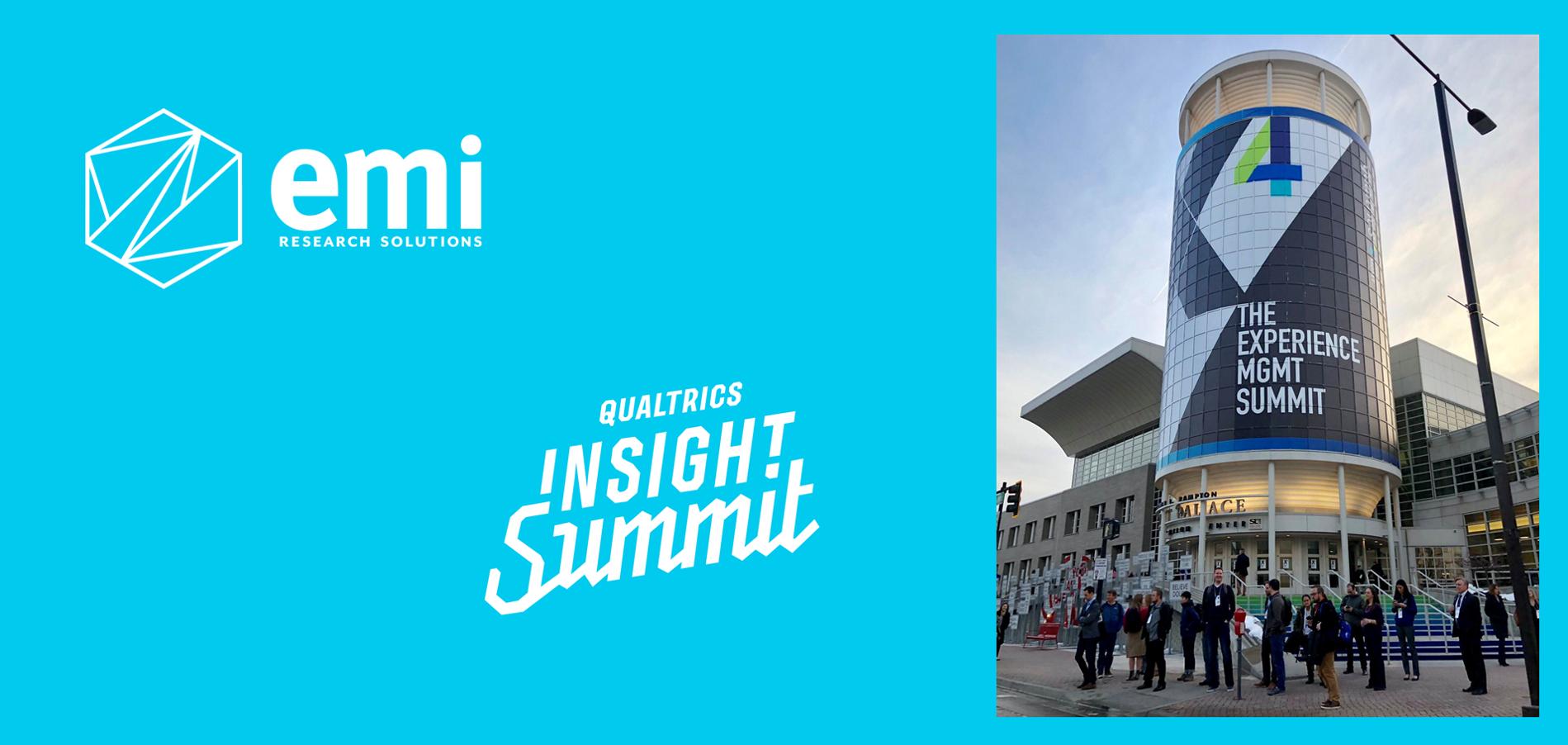EMI Is back from Qualtrics' X4 Experience Summit