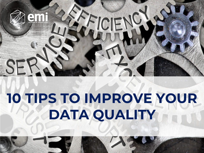 Data Quality Tips Webinar Title Screen