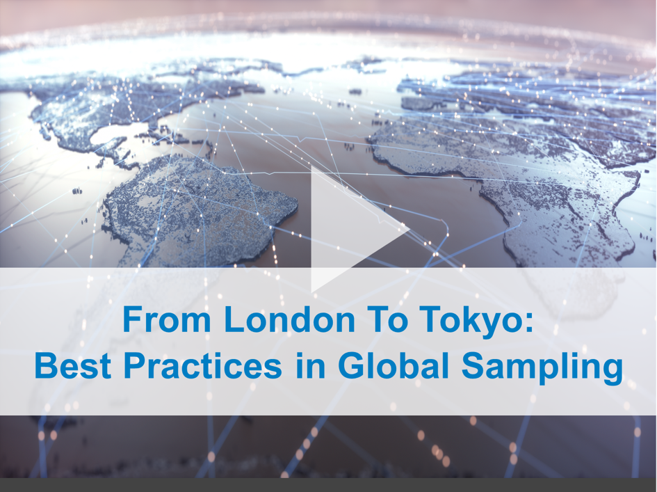 Global Sampling Webinar Title Screen